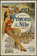 "Movie Posters:Adventure, Princess of the Nile (20th Century Fox, 1954). One Sheet (27"" X41""). Adventure...."