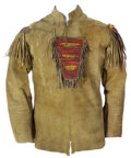 """Movie/TV Memorabilia, Jimmy Stewart """"Linus Rawlings"""" screen worn tunic from How the West was Won. ..."""