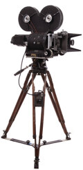 Movie/TV Memorabilia, 20th Century-fox first-unit motion picture camera used to film Planet of the Apes. ...