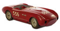 Movie/TV Memorabilia, Wooden visual effects race car miniature from The Racers. ...
