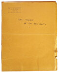 Movie/TV Memorabilia, The Masque of the Red Death by Orson Welles personal photostat copy script. ...