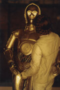Movie/TV Memorabilia, Carrie Fisher collection of (65+) production and fan photos....