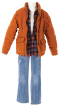 """Movie/TV Memorabilia, Henry Thomas' """"Elliott"""" opening scenes screen-worn outfit from E.T. the Extra-Terrestrial. ..."""