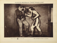Olympic legend Annette Kellerman silent sports (6) lobby cards from 3 films