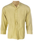 Movie/TV Memorabilia, Group of (11) Men's period shirts from Edward G. Robinson, James Cagney, Paul Henreid and others....