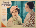 Movie Posters, Paramount pre-code (32) lobby cards and (1) midget window cards from 4 films. . ...