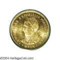 Commemorative Gold: , 1904 G$1 Lewis and Clark MS64 PCGS. Green-gold in color ...