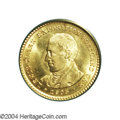 Commemorative Gold: , 1905 G$1 Lewis and Clark MS64 PCGS. Lustrous and ...