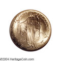 Commemorative Gold: , 1926 $2 1/2 Sesquicentennial MS65 NGC. Both sides of this ...