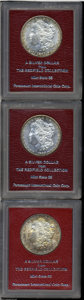 Additional Certified Coins: , 1887-S $1 Dollar MS65 Paramount (MS63); 1889-S Dollar MS65 ... (3coins)