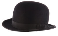 """Oliver Hardy """"Ollie"""" bowler hat from Jitterbugs"""