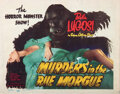Movie Posters, Bela Lugosi (6) reissue lobby cards from Murders in the Rue Morgue.. ...
