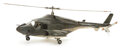 Movie/TV Memorabilia, Miniature working Airwolf helicopter from the establishing mountain hangar shots for Airwolf. ...