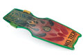 """Movie/TV Memorabilia, Ricky Dean Logan """"Data"""" wooden No Tech Knowhow Hoverboard from Back to the Future II. ..."""