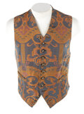 Movie/TV Memorabilia, Group of (54) Men's period vests and pants from Charles Boyer, George Arliss, Stewart Granger and others....