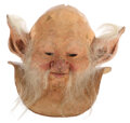 """Movie/TV Memorabilia, Billy Barty """"Screwball"""" mask created by Rob Bottin for Legend...."""