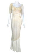 """Movie/TV Memorabilia, Marilyn Monroe """"Elsie"""" pearl encrusted ball gown from The Prince and the Showgirl...."""