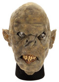 Movie/TV Memorabilia, The Lord of the Rings: Return of the King hero Orc Mask. ...
