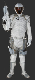 """Movie/TV Memorabilia, """"Peacekeeper"""" complete uniform with prop handgun and rifle from: Mockingjay - Part 1...."""