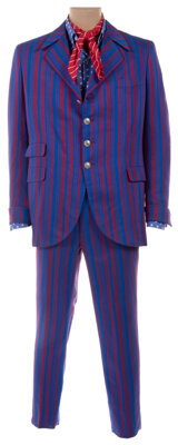 """Mike Myers """"Austin Powers"""" blue and red suit from Austin Powers in Goldmember"""