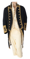 """Movie/TV Memorabilia, Russell Crowe """"Captain Jack Aubrey"""" British Nautical costume from Master & Commander: The Far Side of the World...."""