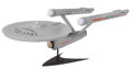 Movie/TV Memorabilia, Star Trek: The Original Series-style U.S.S. Enterprise NCC 1701 miniature model crafted from the production molds of the famou...