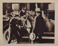 """Harry Houdini """"Thwarted but only for a moment"""" lobby card from The Grim Game"""