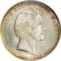 German States:Bavaria, German States: Bavaria. Ludwig I Taler 1829,...