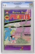 Bronze Age (1970-1979):Cartoon Character, Richie Rich Profits #10 File Copy (Harvey, 1976) CGC NM+ 9.6 Whitepages....