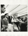 Movie/TV Memorabilia, Marilyn Monroe (3) photographs from a charity event at Madison Square Garden by Milton H. Greene....