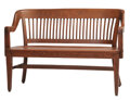 """Movie/TV Memorabilia, Forrest Gump bench used by young """"Forrest"""" at school...."""