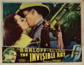 Movie Posters, Boris Karloff (2) lobby cards from The Invisible Ray. . ...