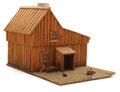 Movie/TV Memorabilia, Model Ingalls' house created for production of Little House on the Prairie. ...