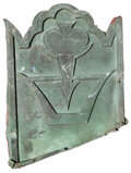 Movie/TV Memorabilia, (2) Vintage copper shingles from the original roof of the Chinese Theatre. ...