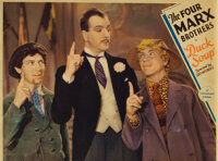 Marx Brothers (2) lobby cards from Duck Soup