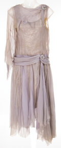 """Movie/TV Memorabilia, Debbie Reynolds """"Kathy Selden"""" mauve silk chiffon dress from the """"You Were Meant for Me"""" musical sequence in Singin' in the Ra..."""