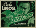 Movie Posters, Bela Lugosi (2) lobby cards from The Devil Bat. . ...