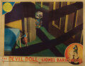 Movie Posters, Lionel Barrymore (6) lobby cards from The Devil Doll. . ...