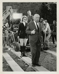 Movie/TV Memorabilia, Alfred Hitchcock (65+) production photographs from Marnie....