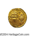 Ancients:Byzantine, Ancients: Constans II. A.D. 641-668. AV solidus (20 mm, 4.38 g).Constantinople, A.D. 654-659. Crowned facing busts of Constans andCo...