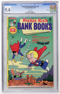 Bronze Age (1970-1979):Cartoon Character, Richie Rich Bank Book #18 File Copy (Harvey, 1975) CGC NM 9.4 Whitepages....