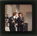 Movie/TV Memorabilia, (6) Vintage color camera transparencies of The Beatles on the Ed Sullivan Show, copyrights included. ...