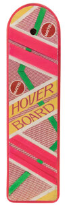 """Movie/TV Memorabilia, Michael J. Fox """"Marty McFly"""" hoverboard prop from Back to the Future Part II...."""