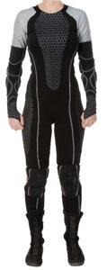 """Movie/TV Memorabilia, """"Katniss Everdeen"""" arena wetsuit from The Hunger Games: Catching Fire...."""