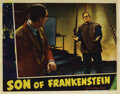 Movie Posters, Boris Karloff lobby card from Son of Frankenstein. . ...