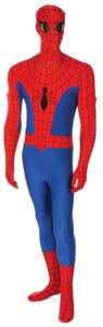 """Movie/TV Memorabilia, Marvel """"Spider-Man"""" promotional costume from The Amazing Spider-Man television series...."""