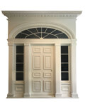"""Movie/TV Memorabilia, Monumental """"Tara"""" front entrance fromGone With the Wind...."""