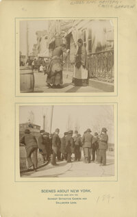 Monumental New York City photographic archive from the Gilded Age through the mid-20th century including iconic photogra...