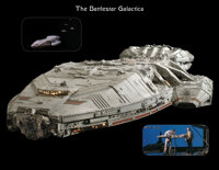 The Gary Cannavo Collection of Battlestar Galactica and Buck Rogers (23) Filming Miniatures