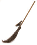 """Movie/TV Memorabilia, Angela Lansbury """"Miss Price's"""" hero """"flying"""" witch's broom from Bedknobs and Broomsticks...."""
